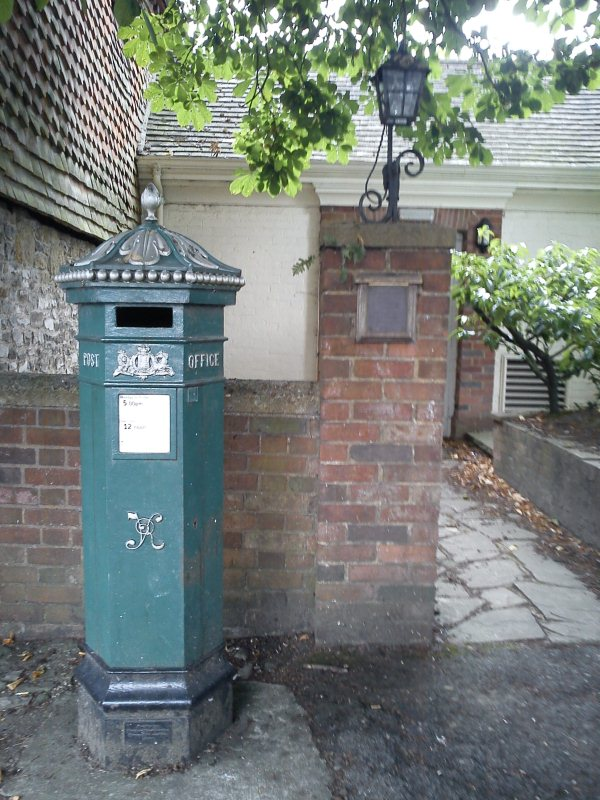 A Victorian post-box in Haslemere