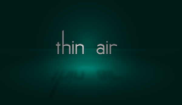 'Thin Air' logo