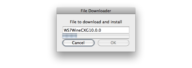 Screenshot of 'File Downloader' window