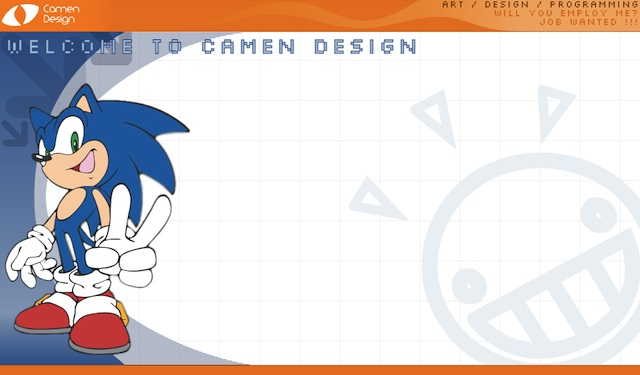 Very early—and spartan—design for camendesign.com