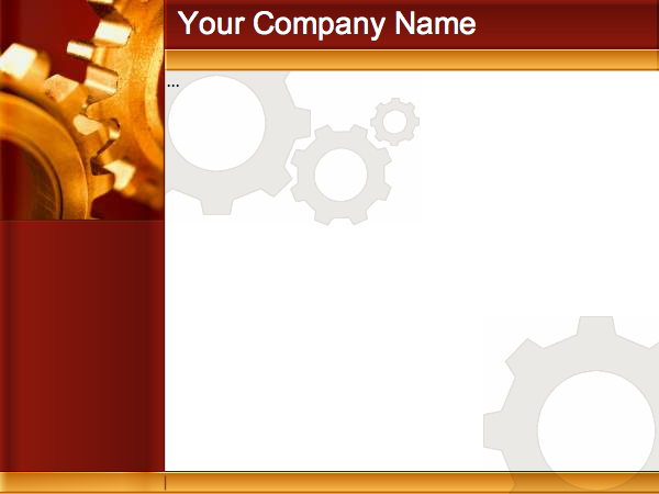 """Cog Template"" design"